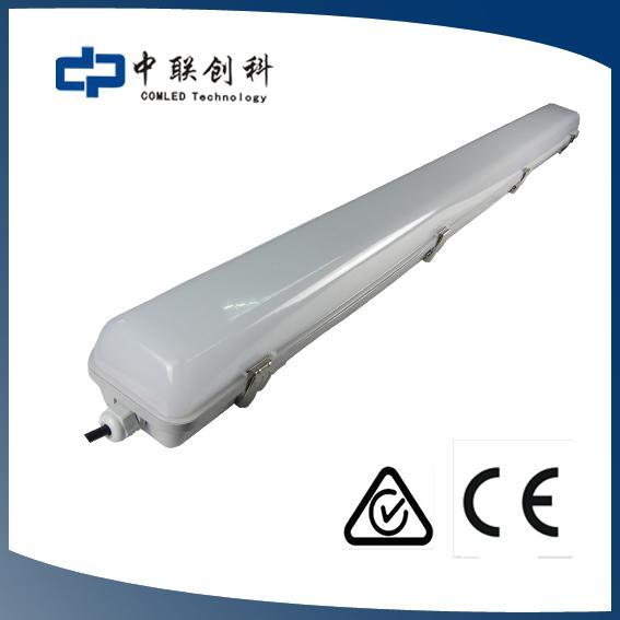 LED waterproof batten light IP65 weatherproof batten fitting 2ft 4ft 5ft