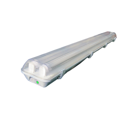 T8 twin tube LED weatherproof fittings emergency waterproof luminaires vapor tight luminaires