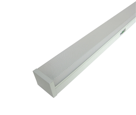 LED prismatic emergency batten light with SMD IP20
