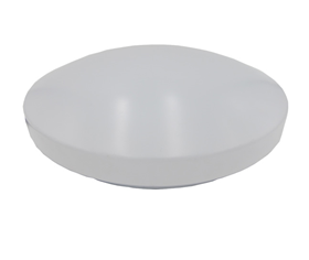 LED emergency oyster ceiling light
